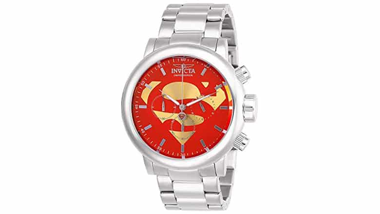 Invicta Superman Watch Stainless Steel
