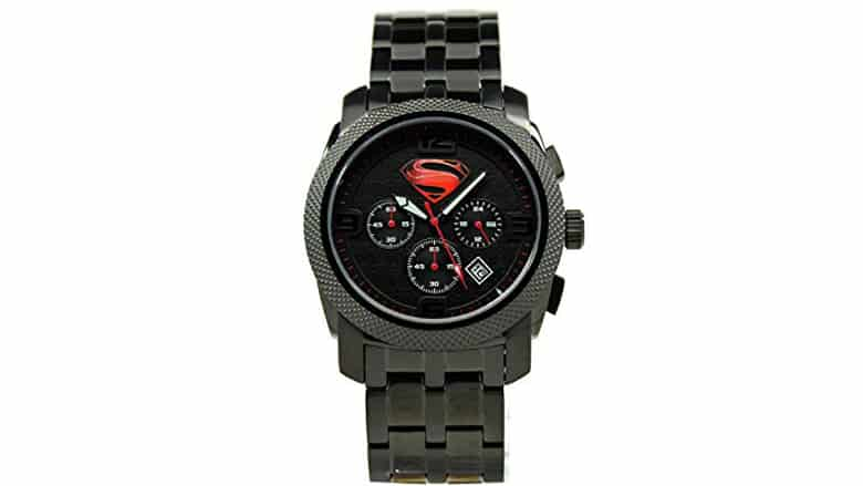 Man of Steel Limited Edition Stealth Superman Watch