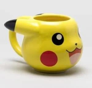 pika power shaped mug