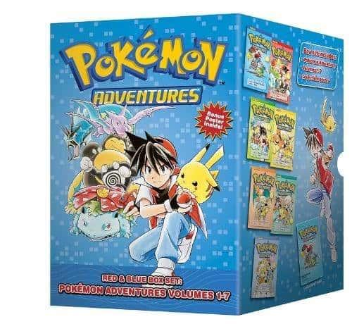 Pokemon Adventures: Red and Blue Box Set (Manga)