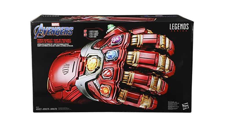 marvel legends series avengers power gauntlet
