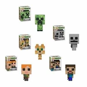 Funko Pop! Games – Minecraft Set Of 5