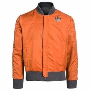 Musterbrand Star Wars Rebel Pilot Orange Jacket