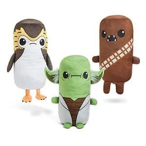 Star Wars Cutesy Roll Plushes