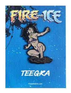 fire and ice pin