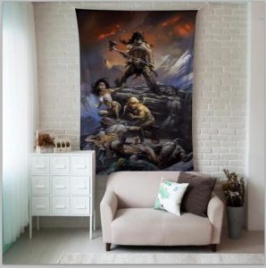 fire and ice tapestry