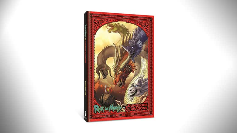 rick and morty dungeons and dragons book