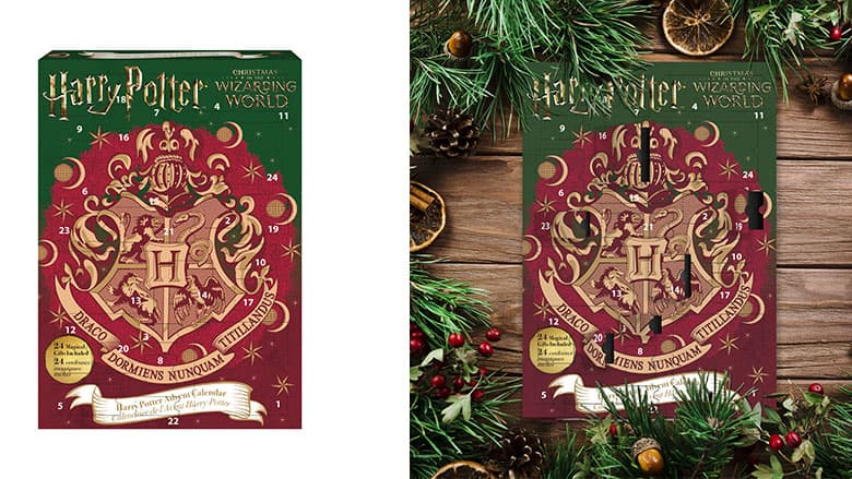 Christmas Harry Potter.Harry Potter Advent Calendar Christmas In The Wizarding World
