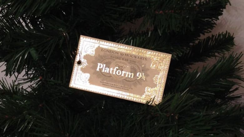 Harry Potter Platform Ticket