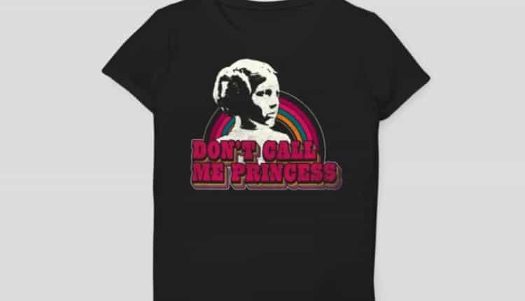 Girls' Star Wars Don't Call Me Princess Short Sleeve T-Shirt