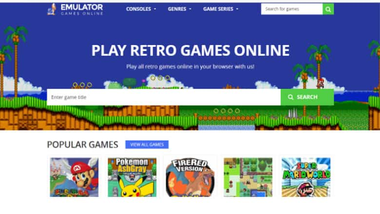 5 Sites to Play Retro Games Online For Free On Your PC – eGaming
