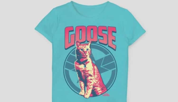 Girls' Captain Marvel Goose on the Loose Short Sleeve T-Shirt
