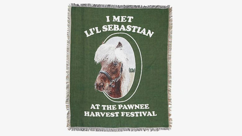 Li'l Sebastian Throw Blanket