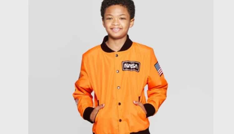 Boys' NASA Flight Jacket with Pockets