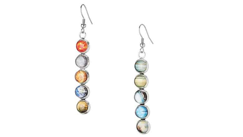 Solar System Earrings – $45