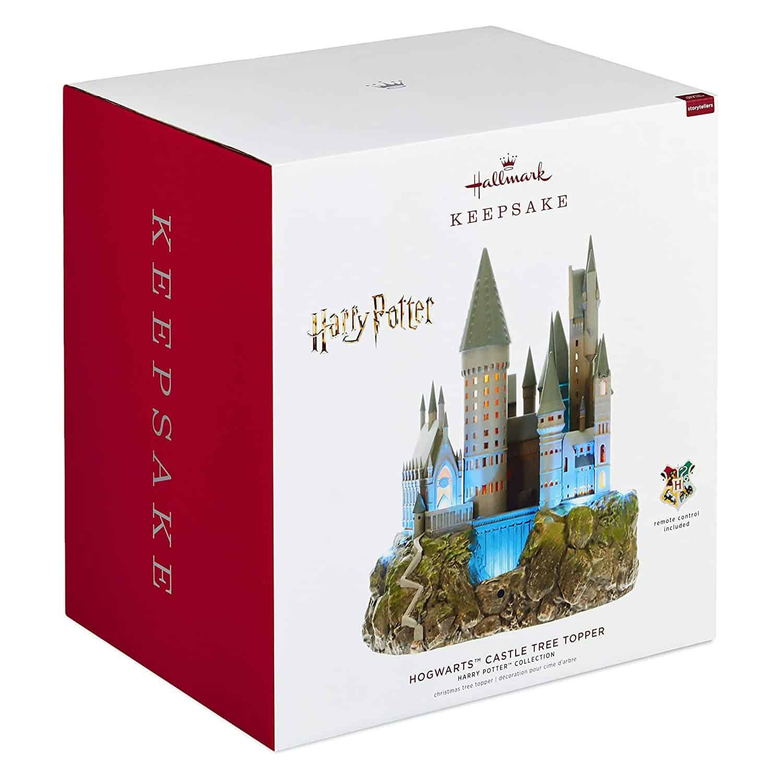 Harry Potter Christmas Tree Topper: Hogwarts Christmas Tree Topper - Available Now!