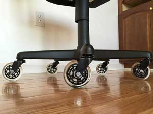 office chair rollerblade wheels covers and linens inc best caster reviews casters safe for hardwood floor