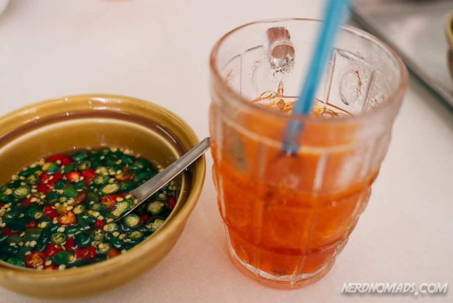 Chrysanthemum ice tea