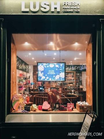 Lush shop in Oslo