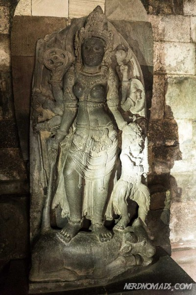 Durga, Shiva`s consort, the slayer of Bull demon