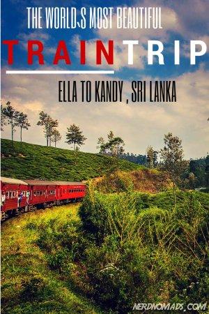 The World`s Most Beautiful Train Trip - Ella to Kandy, Sri Lanka