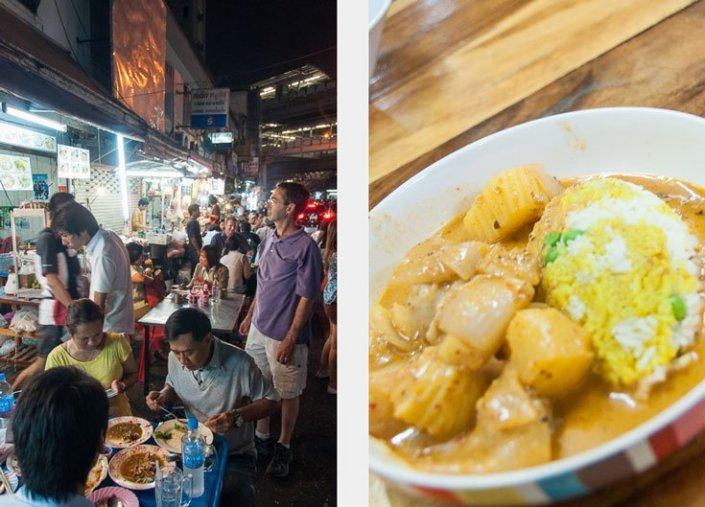Massaman Curry in Bangkok