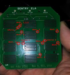 sentrysafe pcb schematic click for larger resolution [ 1444 x 813 Pixel ]