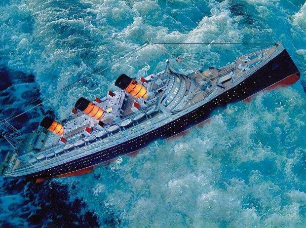 non salire sulle navi