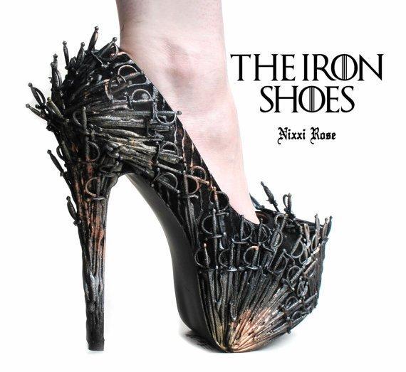 iron shoes