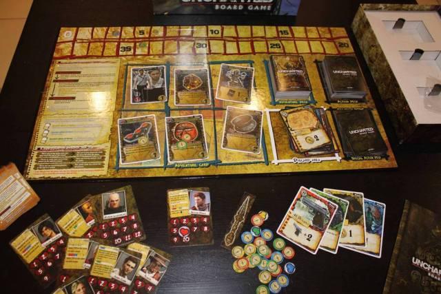 gioco da tavolo uncharted
