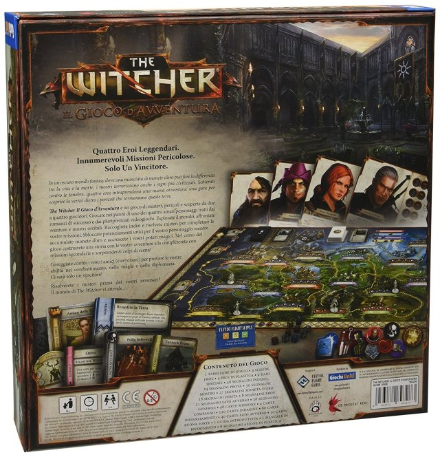 gioco da tavolo the witcher