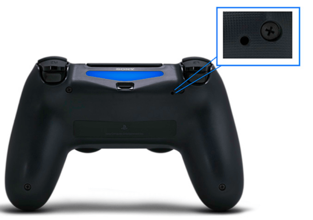 problema luce bianca controller ps4