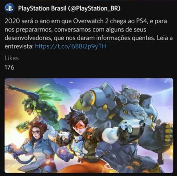 Overwatch 2 PS Brazil leak
