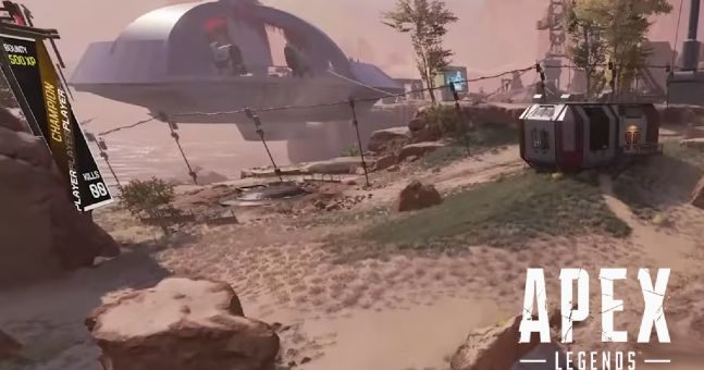 Apex Legends: leaks rivelano la comparsa di un UFO su Kings Canyon