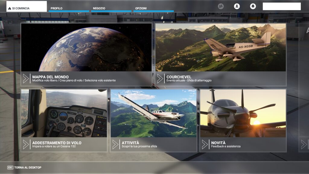 HomePage Flight Simulator
