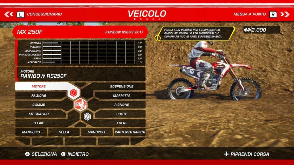 MX vs ATV All Out Nintendo Switch Recensione