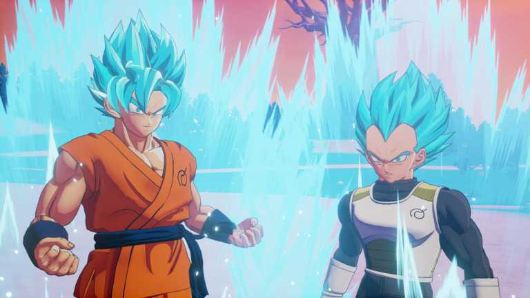 Dragon Ball Z: Kakarot - A New Power Awakens Goku e Vegeta