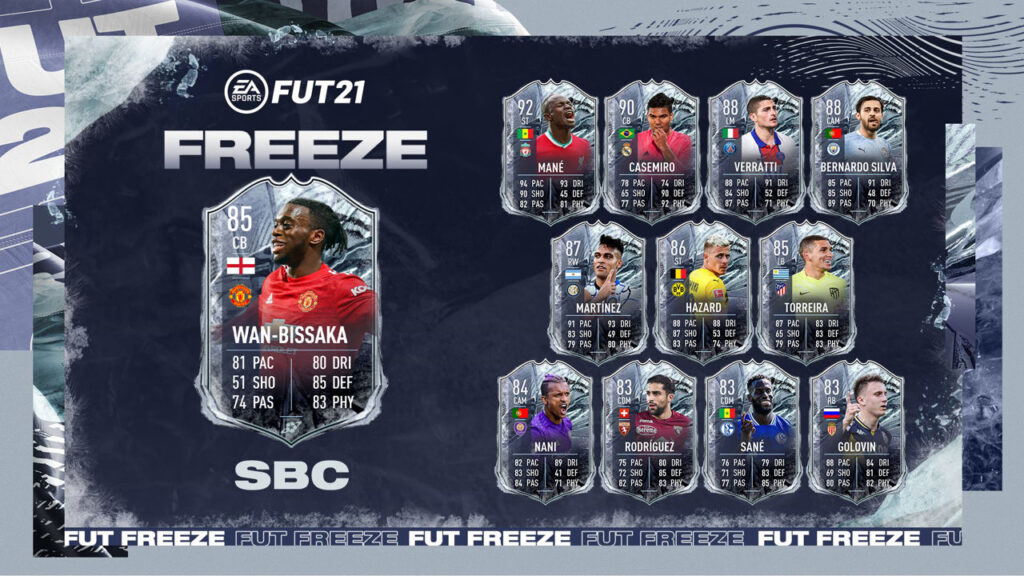 FIFA 21 Wan Bissaka FUT Freeze SBC - Ultimate Team - Ex FUTMas