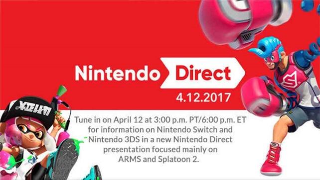 Nintendo Direct 12/04/17 - resumo