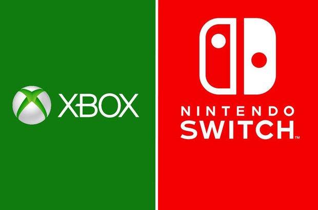 Xbox no Nintendo Switch