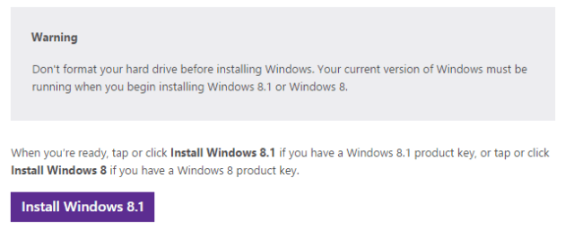 Windows 8.1 Installation Files