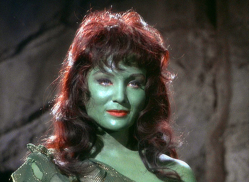 Susan Oliver in STAR TREK