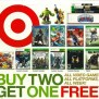 Target S Buy 2 Get 1 Free Video Game Starts Next Week