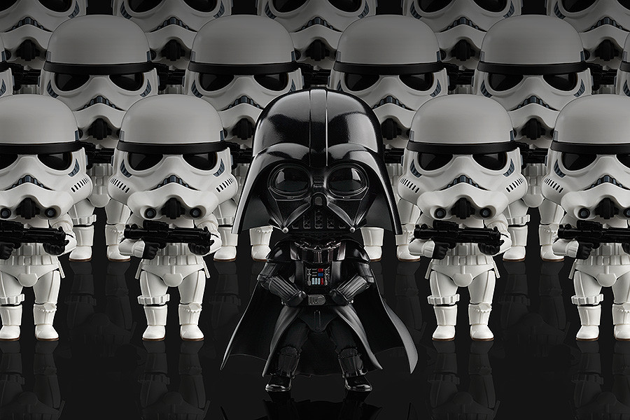 Nendoroid Darth Vader And Stormtroopers Are Ready To