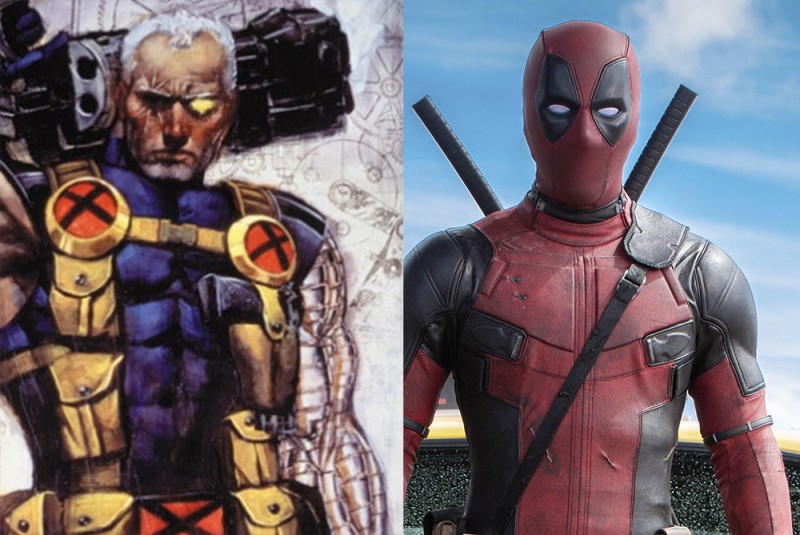 Image result for deadpool cable movie