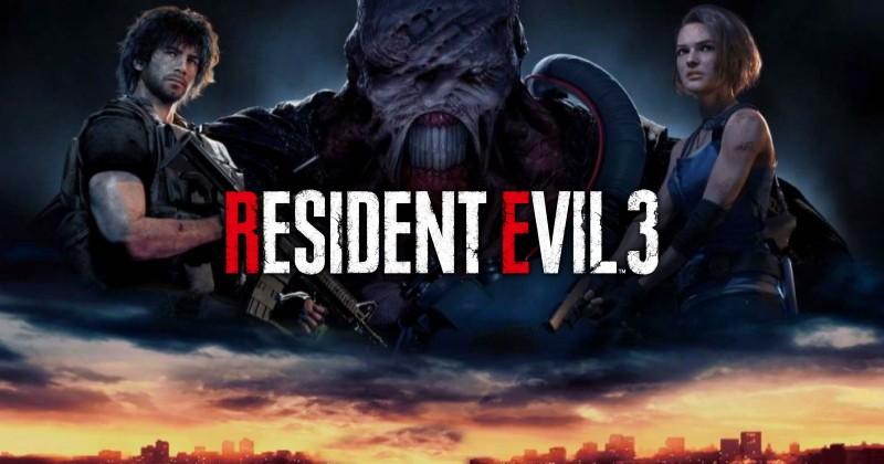 Resident Evil 3 Remake - Capa