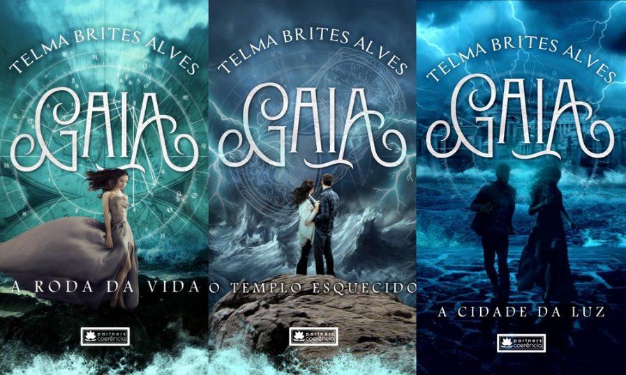 """Trilogia """"Gaia"""", de Telma Brites"""