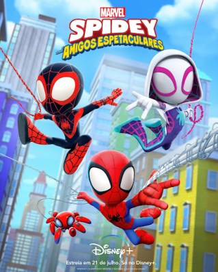 Spidey e Seus Amigos Espetaculares estreia dia 21 de julho no Disney+