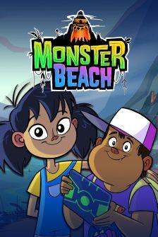 Cartoon Network praia monstro