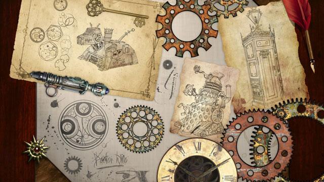 Doctor Who Steampunk - gefunden auf http://www.lifehacker.jp/